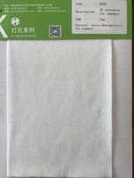 Super Soft Perforated Small Round DOT Hot Air Through Nonwoven for Hygiene Product (K02)